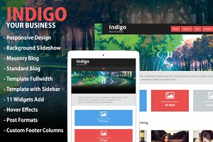 Indigo - Responsive Masonry