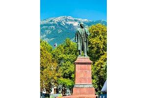 Monument of Vladimir Lenin in Yalta