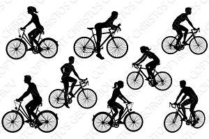 Bicycle Riding Bike Cyclists