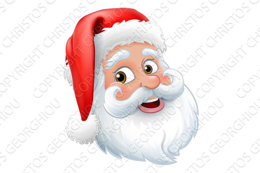 f755fe1c39 Santa Claus Father Christmas Cartoon ~ Illustrations ~ Creative Market