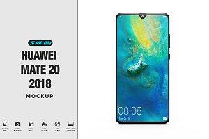 Huawei Mate 20 App Mockup