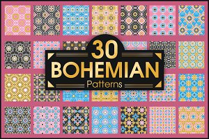 Bohemian vector patterns