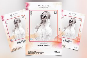 Wave - Premium PSD Flyer Template