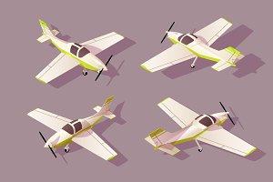 Set light aircraft