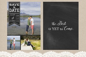 4 Save the Date Templates