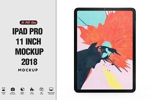 iPad Pro 11 inch 2018 mockup