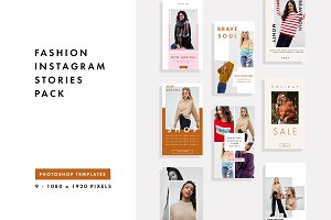 FASHION INSTAGRAM STORIES PACK