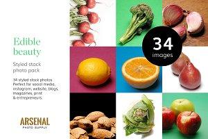 Edible Beauty - Stock Photo Bundle