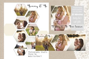 3 Collage Photography Marketing Set