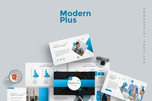 Modern Plus -  Powerpoint Template