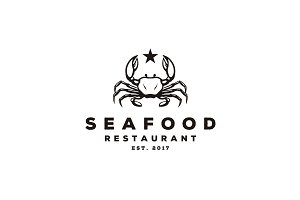 Seafood / Crab / Lobster logo design