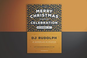Merry Christmas Celebration Flyer