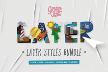The Complete Layer Styles Bundle by  in Layer Styles