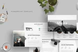 Muiza - Powerpoint Template
