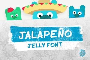 Jalapeño Jelly Display Font