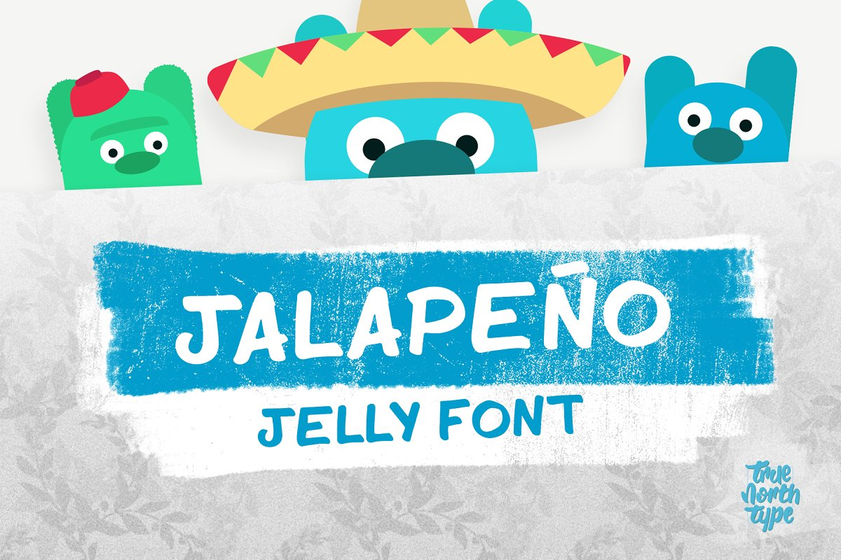 Jalapeño Jelly Display Font