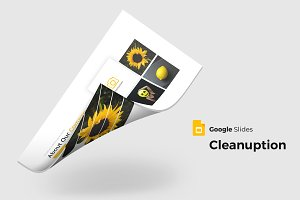 Cleanuption - Google Slides Template