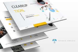 Cleanuption - Keynote Template