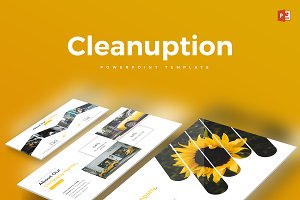 Cleanuption - Powerpoint Template