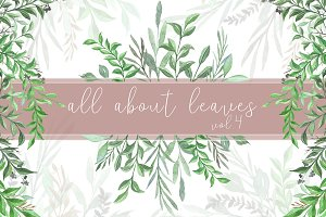 All About Leaves Vol.4