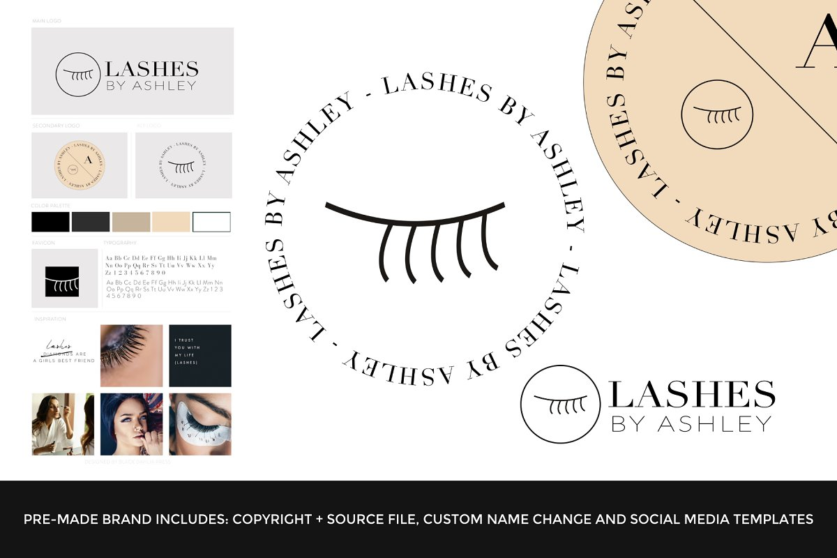 Lashes By Ashley Premade Brand Sale