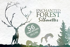 Enchanted Forest Silhouettes