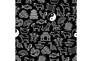 Chinese seamless vector pattern
