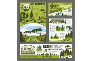 Park and garden landscape design