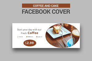 Caffee and Cake Facebook Cover - SK
