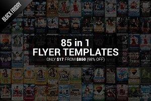 Black Friday Sale 85 Flyer Templates