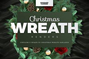 Christmas Wreath Renders