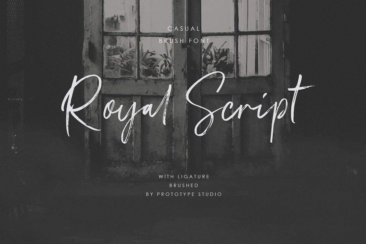 Royal Script ~ Display Fonts ~ Creative Market