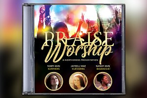 Praise Worship CD Album Artwork