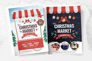 Christmas Market Flyers