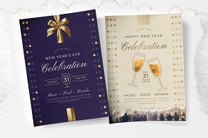 New Year's Eve Flyers & Posters
