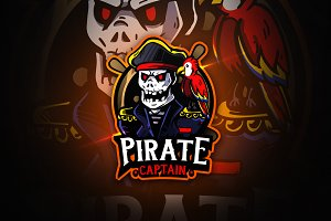 Pirate Captain - Macsot & EsportLogo