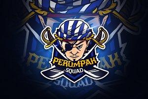 PerompakSquad - Mascot & Esport Logo