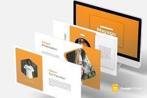 Mayago - Google Slides Template