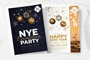 NYE Party Flyers / Posters