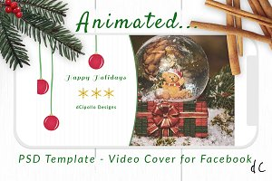 Animated Cover Template for Facebook