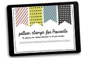 Brush Stamp Patterns for Procreate
