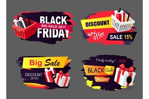 Big Sale of Black Friday Holiday