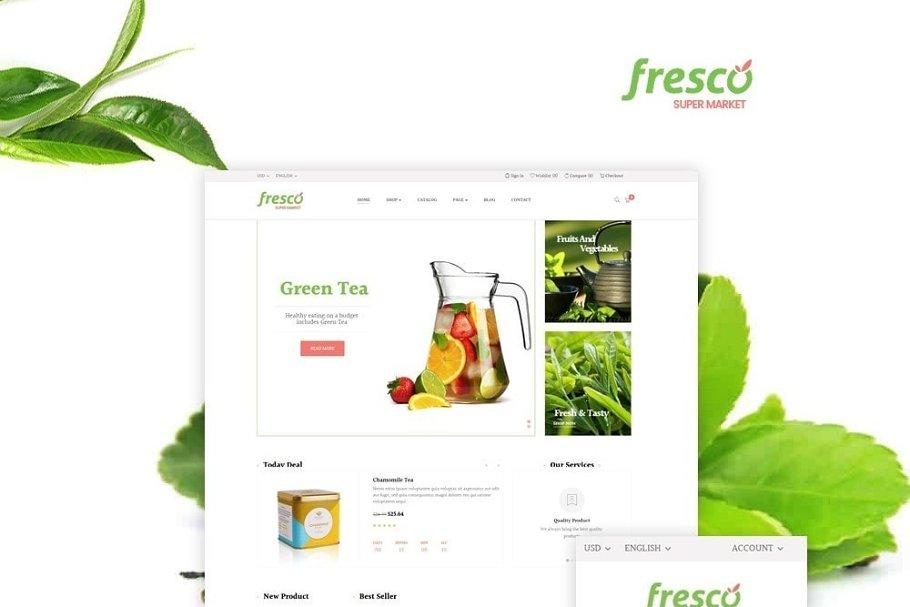 LEO FRESCO - HERBAL AND SPICED TEA S