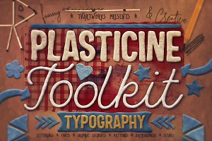 Plasticine Typography Creator