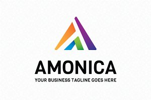 Amonica Logo Template