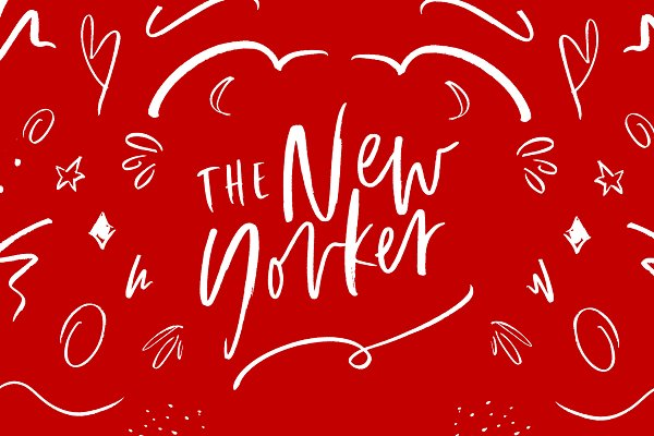 Script Fonts: Sinikka Li - The New Yorker | Font + Extras