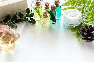 natural oils and cosmetics