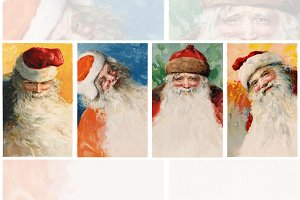 Xmas Santa Set - The Big Four