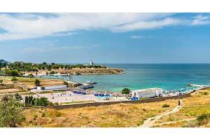 The Sunny Beach in Sevastopol
