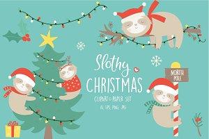 60% off-Slothy christmas